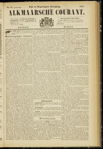 Alkmaarsche Courant 1893-07-16