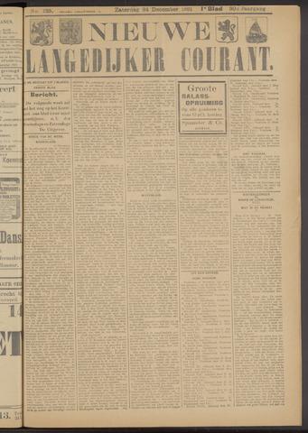 Nieuwe Langedijker Courant 1921-12-24
