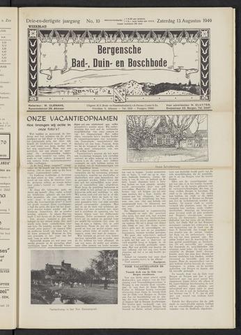 Bergensche bad-, duin- en boschbode 1949-08-13