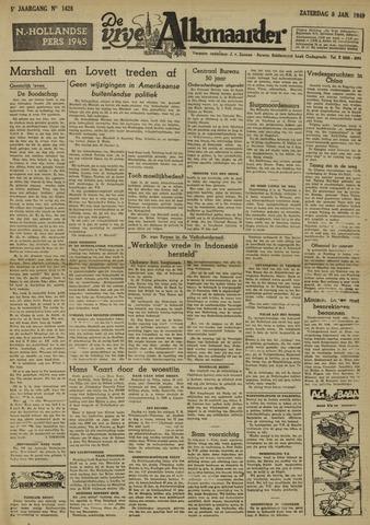 De Vrije Alkmaarder 1949-01-08