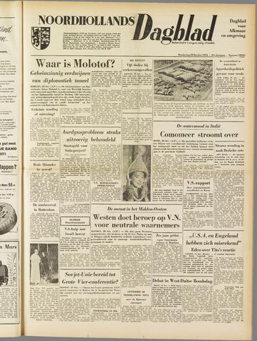 Noordhollands Dagblad : dagblad voor Alkmaar en omgeving 1953-10-29