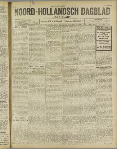 Ons Blad : katholiek nieuwsblad voor N-H 1922-02-03