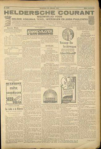 Heldersche Courant 1927-01-22