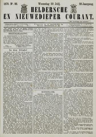 Heldersche en Nieuwedieper Courant 1870-07-20