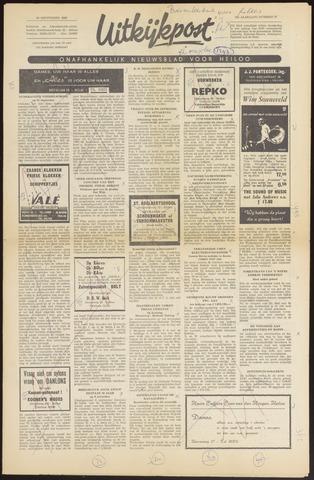Uitkijkpost : nieuwsblad voor Heiloo e.o. 1966-09-29