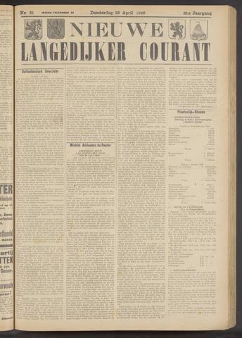 Nieuwe Langedijker Courant 1926-04-29