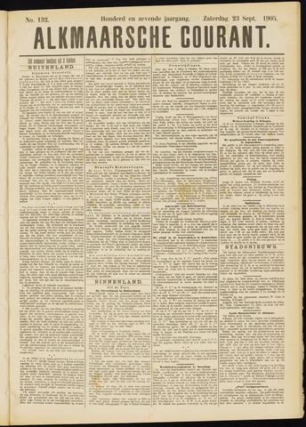 Alkmaarsche Courant 1905-09-23