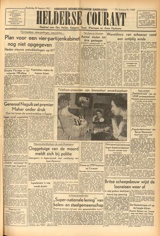 Heldersche Courant 1952-08-28