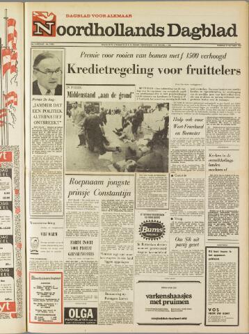 Noordhollands Dagblad : dagblad voor Alkmaar en omgeving 1969-10-14