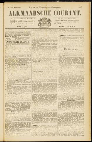 Alkmaarsche Courant 1897-12-12