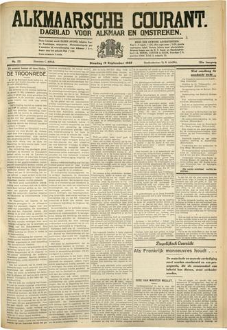 Alkmaarsche Courant 1933-09-19