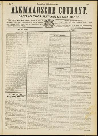 Alkmaarsche Courant 1913-04-07