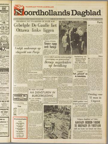 Noordhollands Dagblad : dagblad voor Alkmaar en omgeving 1967-07-27