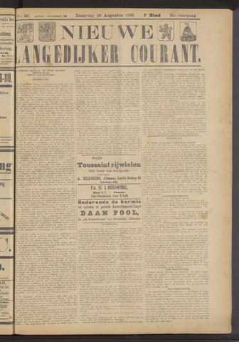 Nieuwe Langedijker Courant 1922-08-26