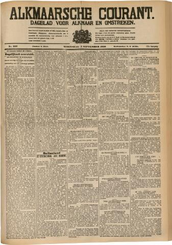 Alkmaarsche Courant 1930-09-03