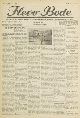 Flevo-bode: nieuwsblad voor Wieringen-Wieringermeer 1947-12-03