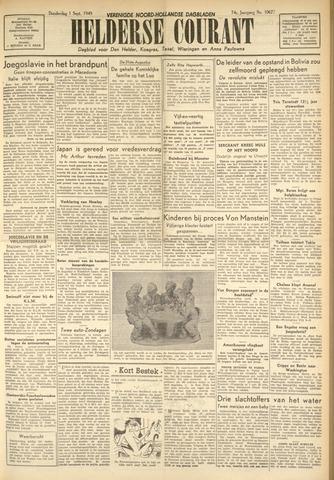 Heldersche Courant 1949-09-01