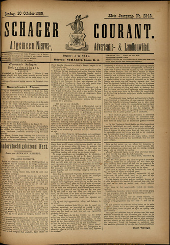 Schager Courant 1889-10-20