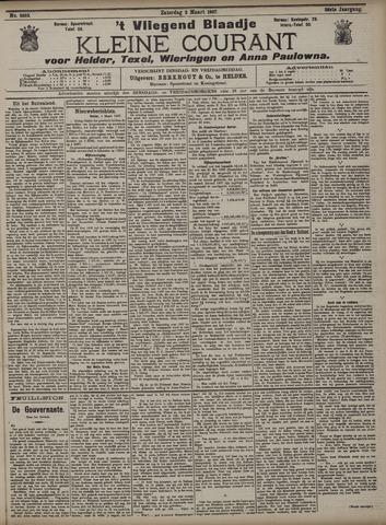Vliegend blaadje : nieuws- en advertentiebode voor Den Helder 1907-03-02