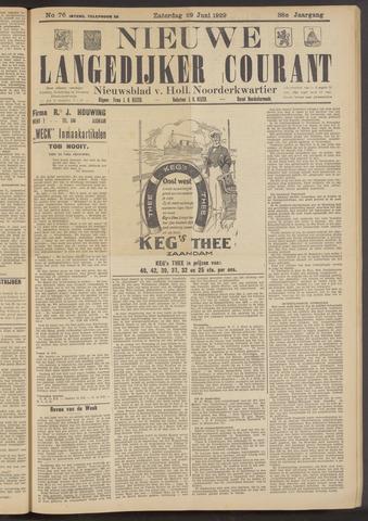 Nieuwe Langedijker Courant 1929-06-29