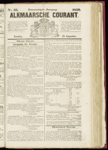 Alkmaarsche Courant 1859-08-28