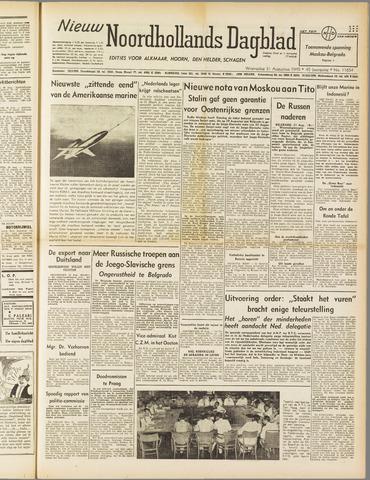Nieuw Noordhollandsch Dagblad : voor Alkmaar en omgeving 1949-08-31