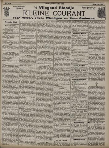 Vliegend blaadje : nieuws- en advertentiebode voor Den Helder 1908-09-19