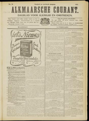 Alkmaarsche Courant 1912-02-05