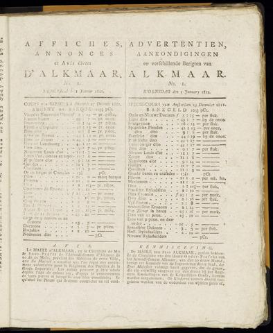 Alkmaarsche Courant 1812-01-01