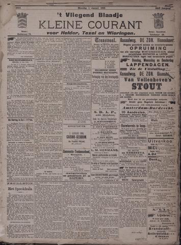 Vliegend blaadje : nieuws- en advertentiebode voor Den Helder 1900-01-01