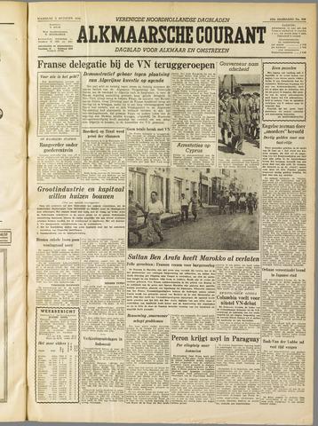 Alkmaarsche Courant 1955-10-03
