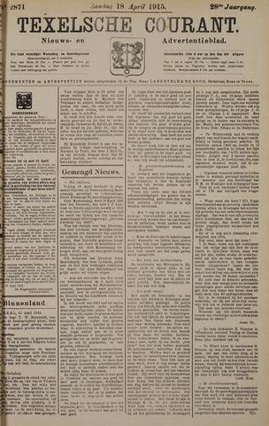 Texelsche Courant 1915-04-18