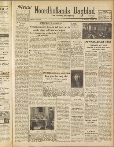 Nieuw Noordhollandsch Dagblad : voor Alkmaar en omgeving 1947-07-14