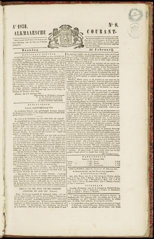 Alkmaarsche Courant 1851-02-24