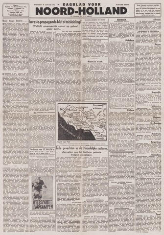 Dagblad Noord-Holland, Schager editie 1944-01-26