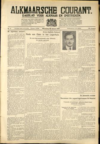 Alkmaarsche Courant 1937-01-20