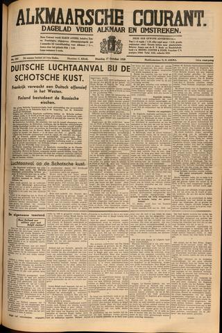 Alkmaarsche Courant 1939-10-17