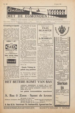 Contact met de Egmonden 1961-03-30