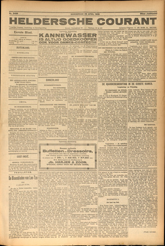 Heldersche Courant 1928-04-26