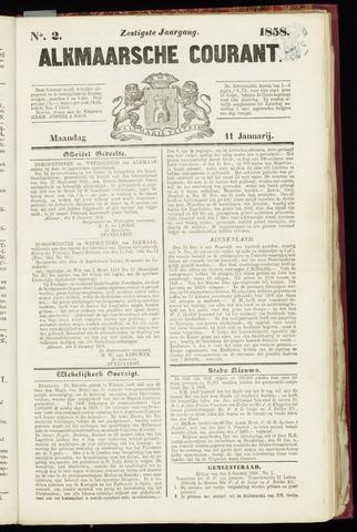 Alkmaarsche Courant 1858-01-11