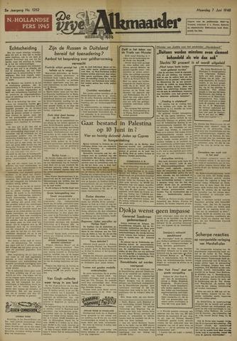 De Vrije Alkmaarder 1948-06-07