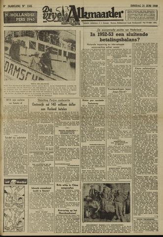 De Vrije Alkmaarder 1949-06-21