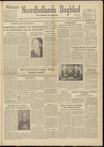 Nieuw Noordhollandsch Dagblad : voor Alkmaar en omgeving 1948-05-11