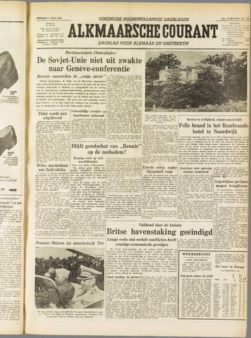Alkmaarsche Courant 1955-07-05