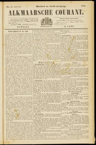Alkmaarsche Courant 1902-06-15