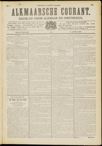 Alkmaarsche Courant 1910-01-05