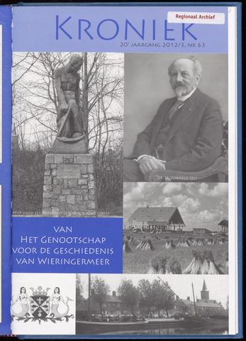 Kroniek Historisch Genootschap Wieringermeer 2012-12-01