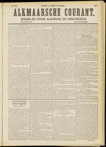 Alkmaarsche Courant 1913-10-20