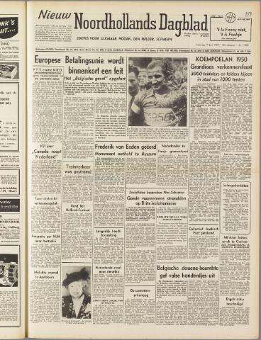 Nieuw Noordhollandsch Dagblad : voor Alkmaar en omgeving 1950-06-19