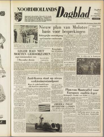 Noordhollands Dagblad : dagblad voor Alkmaar en omgeving 1954-05-22